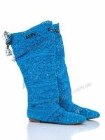 Сетка ботфорд синий