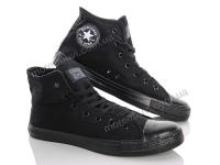 Converse черно-черный 36-40