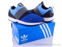 Adidas flux резинка синий