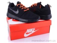 Nike R.R. сетка черно-оранжевый