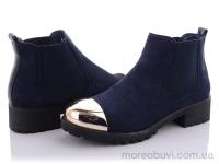 Ботинки женские синие
